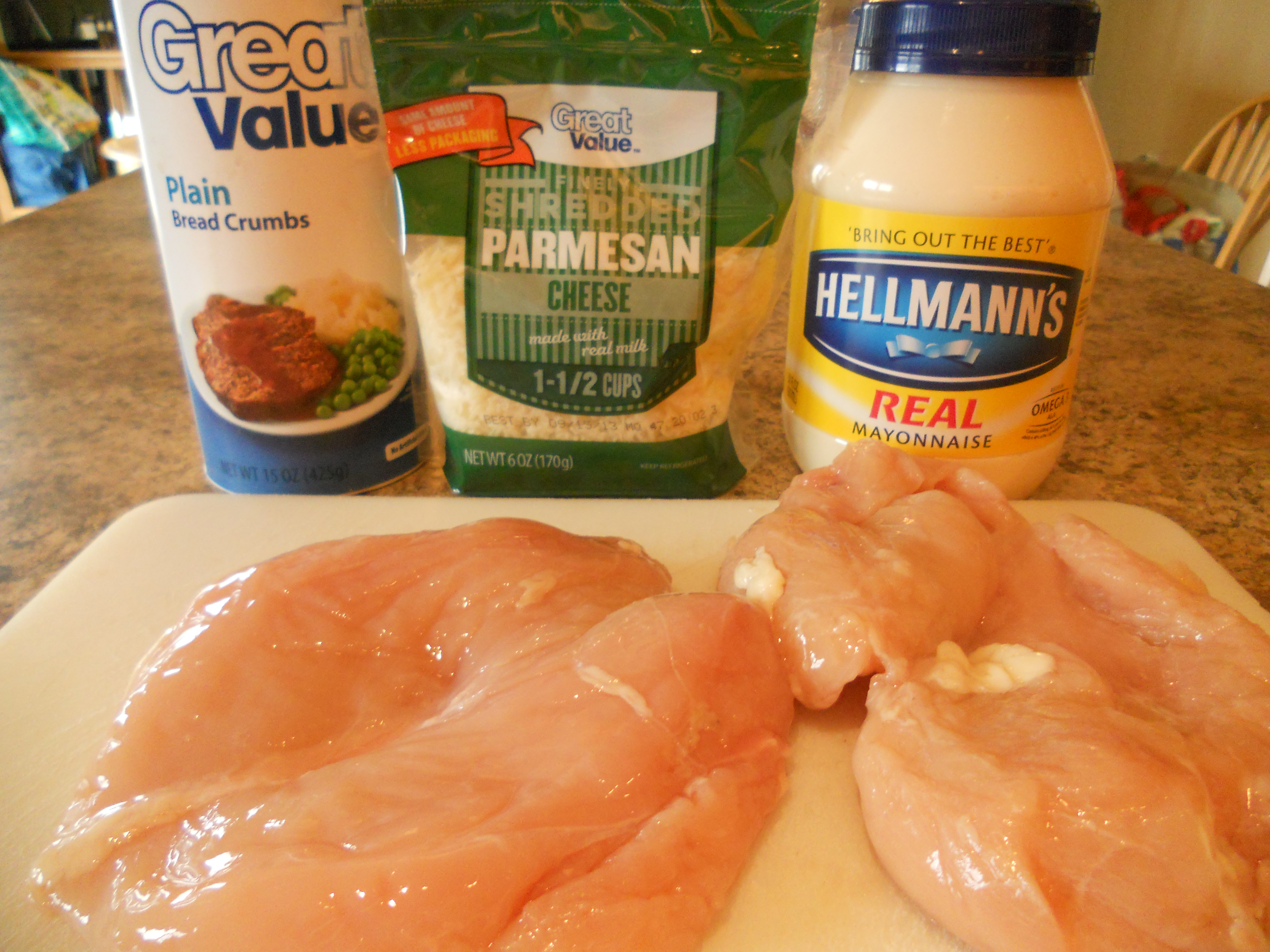 Easy parmesan crusted chicken recipes